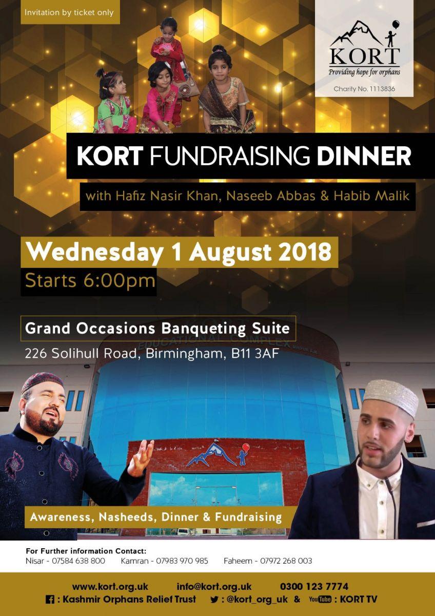 Habib Malik Kort Fundraising Event In Birmingham
