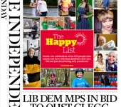 Independent on Sunday's Happy List 2014 (NOT the Rich List): The full list of people who make life better for others