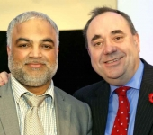 Former First Minister Alex Salmond donates £10,000 speaking fee to charity